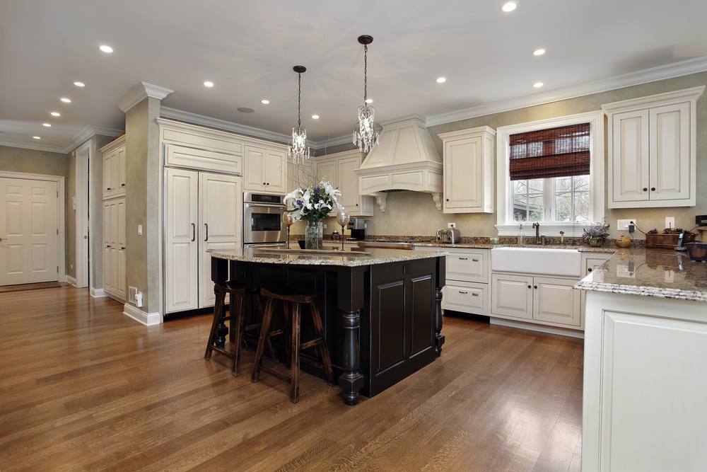 Kitchen with white cabinetry, help buying a home, The Lippincott Team